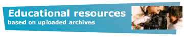 Educational resources based on uploaded archives