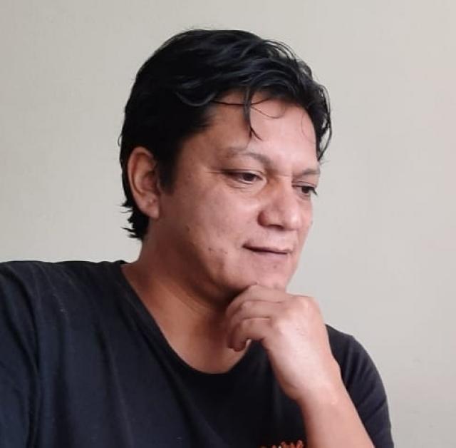 Portrait de César Cáceres Rojas