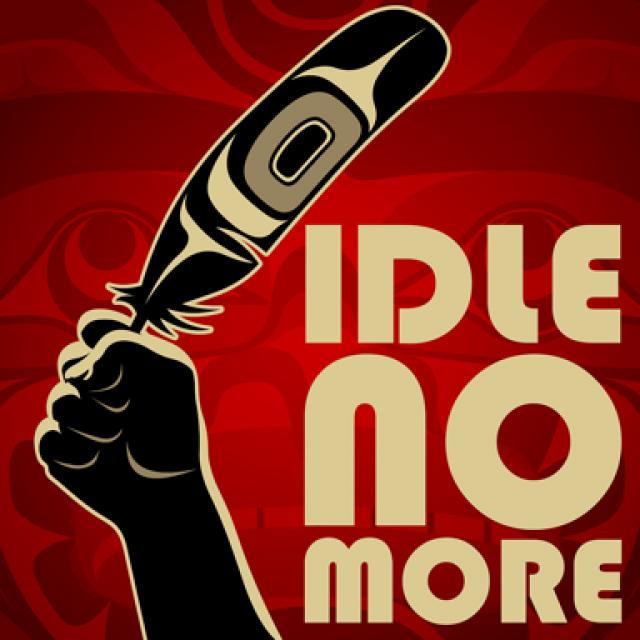 Portrait de Idle No More