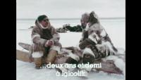 Link to: Emile Immaroitok talks to Bernard Saladin d'Anglure, 1976, 3:32 ᓂᐲᑦ ᐃᓄᒃᑎᑐᑦ and English with French subtitles