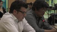 Link to: Lloyd Lipsett, Part 5 English, with Zacharias Kunuk, Formal Intervention, NIRB Technical Hearing, July 23, 2012, Igloolik, Part 5/5, 5:09 original English
