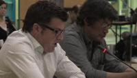 Link to: ᓂᐲᑦ ᐃᓄᒃᑎᑐᑦ Lloyd Lipsett with Zacharias Kunuk, Formal Intervention, NIRB Technical Hearing, July 23, 2012 Igloolik Part 4/4, 5:09 Inuktitut Version