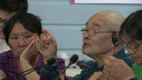 Link to: ᓂᐲᑦ ᐃᓄᒃᑎᑐᑦ Gamaillie Qiluqisaq, NIRB Community Roundtable, July 20 2012, Iqaluit, 3:51 Inuktitut